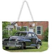 Classic Chrysler 1940s Sedan Weekender Tote Bag