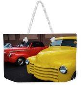 Classic Colors 5 Weekender Tote Bag