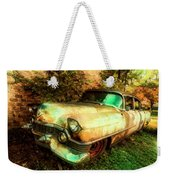 Classic Country Cadillac Painting  Weekender Tote Bag