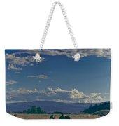 Classic Country Scene Weekender Tote Bag