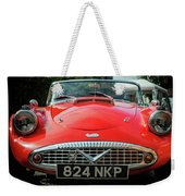 Classic Daimler Sports Car Weekender Tote Bag by Nick Bywater