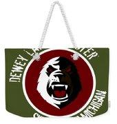 Classic Dlm Logo, Round Weekender Tote Bag