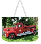 Classic Fire Truck Weekender Tote Bag