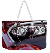 Classic Ford Convertible Interior Weekender Tote Bag