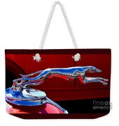 Classic Ford Greyhound Hood Ornament Weekender Tote Bag
