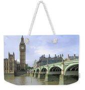 Classic London Weekender Tote Bag