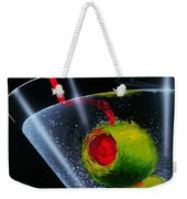 Classic Martini Weekender Tote Bag by Michael Godard