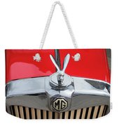 1936 Mg Ta Radiator And Mascot Weekender Tote Bag