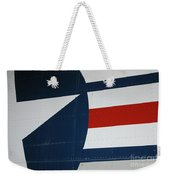 Classic Military Aircraft Abstract- Star 5 Weekender Tote Bag