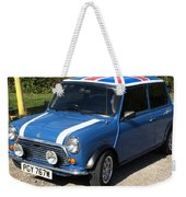 Classic Mini Cooper Weekender Tote Bag