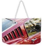 Classic Mustang Fastback Weekender Tote Bag