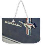 Classic Mustang Logo Closeup Weekender Tote Bag