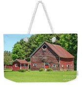 Classic Old Red Barn In Vermont Weekender Tote Bag