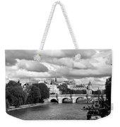 Classic Paris 5 Weekender Tote Bag