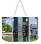 Classic Pay Phone Booth Weekender Tote Bag