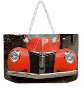 Classic Pick Up Truck Weekender Tote Bag