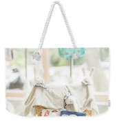 Classic Retro Toys In Kids Children Shop Weekender Tote Bag