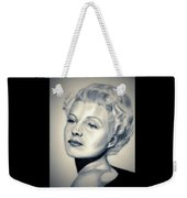 Classic Rita Hayworth Weekender Tote Bag