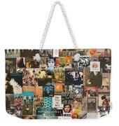 Classic Rock Lp Collage 1 Weekender Tote Bag