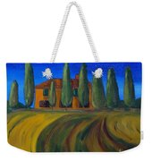 Classic Tuscan Sunset Weekender Tote Bag