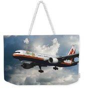 Classic Twa Boeing 757-231 Weekender Tote Bag