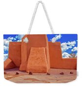Classic View Of Ranchos Church As Oil Weekender Tote Bag