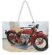 Classic Vintage Indian Motorcycle Red   # Weekender Tote Bag