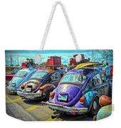 Classic Volkswagen Beetle - Old Vw Bug Weekender Tote Bag
