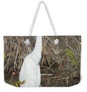 Classic White Weekender Tote Bag