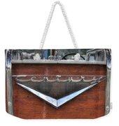 Classic Wooden Boat Weekender Tote Bag