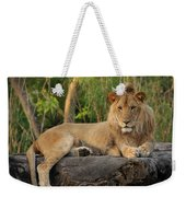 Classic Young Male Weekender Tote Bag