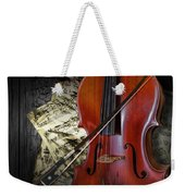 Classical Cello Weekender Tote Bag