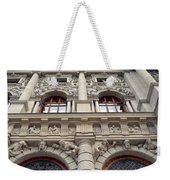 Classical Decorative Building Facade In Vienna Weekender Tote Bag