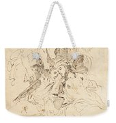 Classical Figures Gathered Around An Urn Weekender Tote Bag