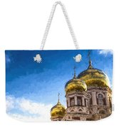 Intercession Cathedral In Saratov Russia Weekender Tote Bag