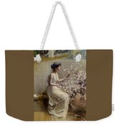 Classical Maiden Weekender Tote Bag