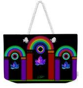 Classical Neon Weekender Tote Bag