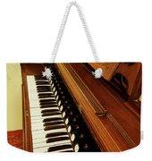 Vintage Organ Weekender Tote Bag