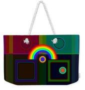 Classical Rainbow Weekender Tote Bag