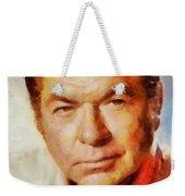 Claude Akins, Vintage Hollywood Actor Weekender Tote Bag
