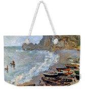 Claude Monet: Etretat, 1883 Weekender Tote Bag