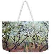 Claude Monet Orchard In Bloom Weekender Tote Bag