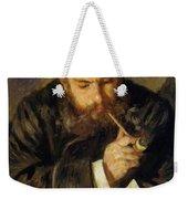 Claude Monet The Reader 1874 Weekender Tote Bag