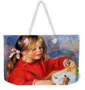 Claude Renoir At Play Sun 1905 Weekender Tote Bag