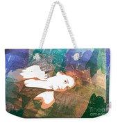 Claudia Nude Fine Art Painting Print In Sensual Sexy Color 4895. Weekender Tote Bag