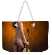 Claudia Nude Fine Art Print In Sensual Sexy Color 4875.02 Weekender Tote Bag