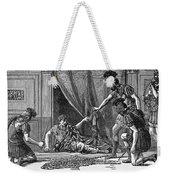Claudius And Guards Weekender Tote Bag