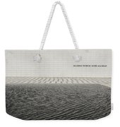 Clean Abstract Lines Of The Aga Khan Museum Facade With Black Po Weekender Tote Bag