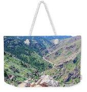 Clear Creek Canyon Weekender Tote Bag