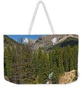 Clear Creek, Flat Top Mountain Weekender Tote Bag